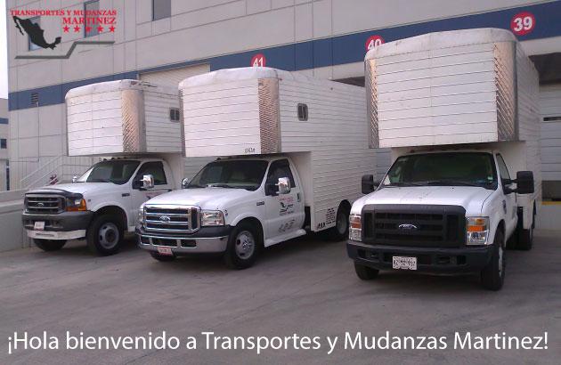 ¡Hola bienvenido a Transportes y Mudanzas Martinez!