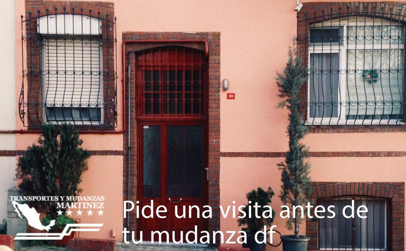 Mudanzas Martinez: Pide una visita antes de tu mudanza df